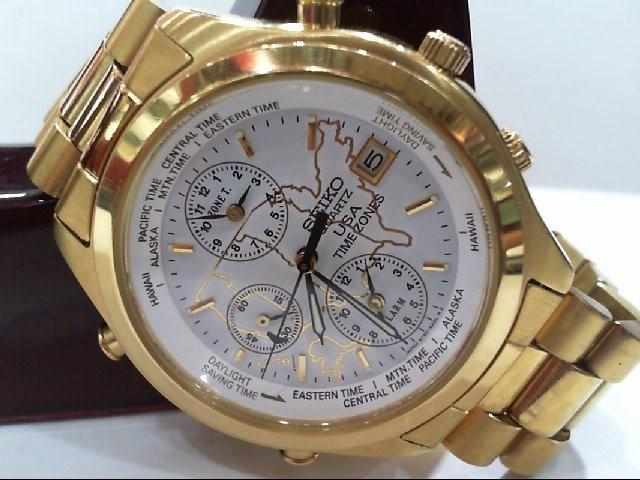 SEIKO Gent's Wristwatch 5T50-6A09