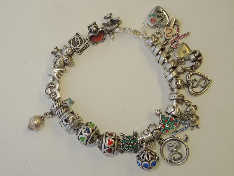 Silver Serpentine Bracelet 925 Silver 68.5g