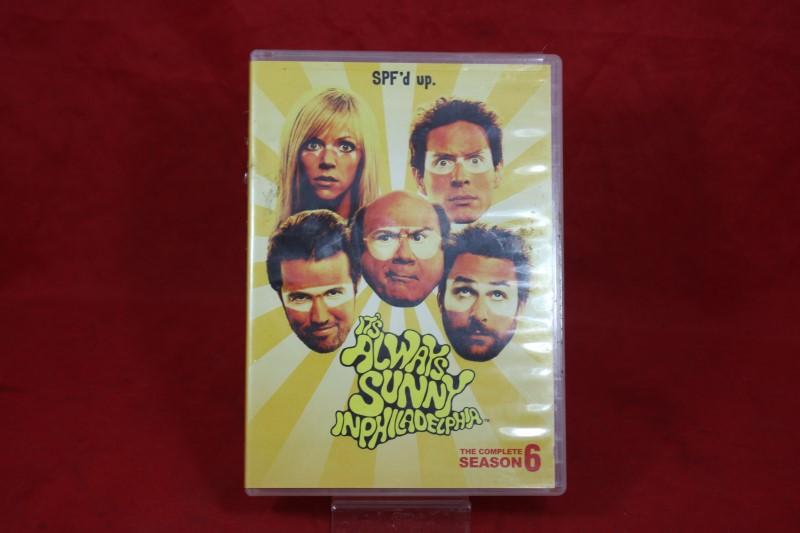 DVD BOX SET DVD ITS ALWAYS SUNNY IN PHILADELPHIA SEASON 6