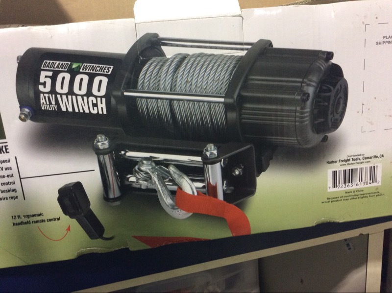 BADLAND WINCHES Shop Equipment 61384