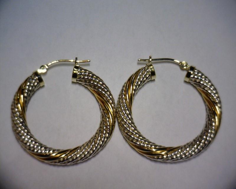 Silver Earrings 925 Silver 3.7dwt