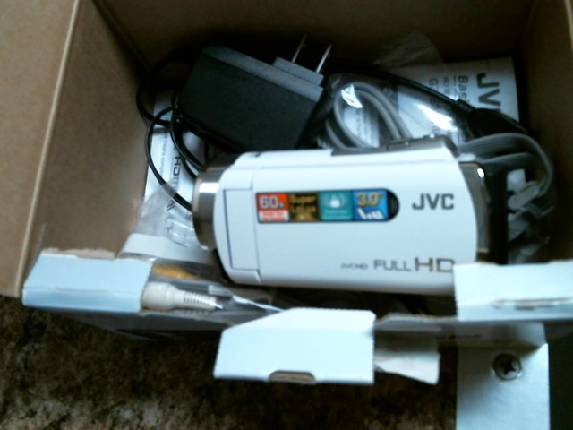 JVC Camcorder GZ-E300WU