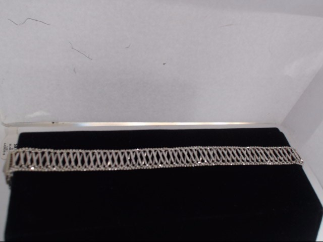 Gold Fashion Bracelet 14K White Gold 7.7g