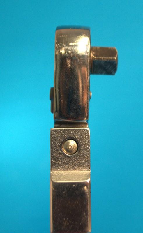 "SNAP ON TQFR100A Flex Head 3/8"" Drive 20-100 ft-lb Torque Wrench w/Case"