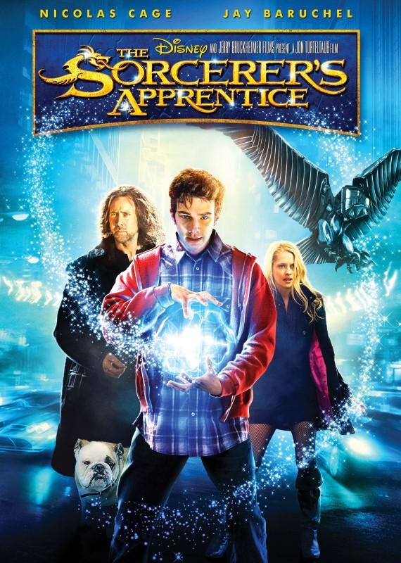 DISNEY Blu-Ray THE SORCERER'S APPRENTICE