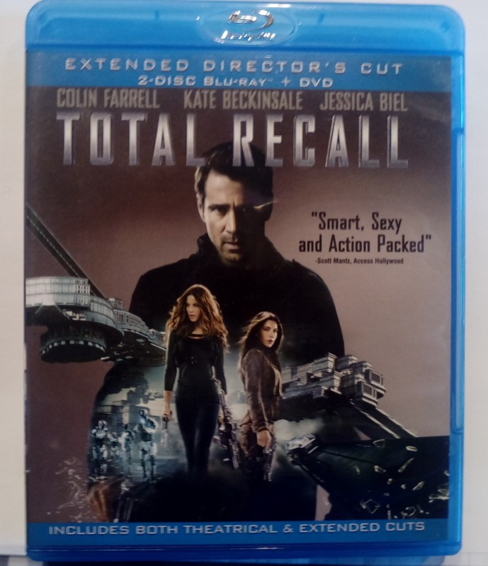 BLU-RAY MOVIE TOTAL RECALL (2012)