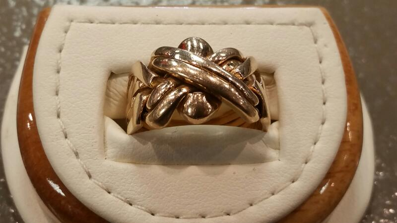 Lady's Gold Ring 14K Yellow Gold 5.5dwt