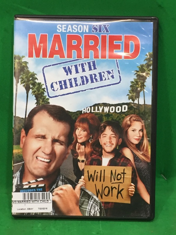 Married With Children: The Complete Sixth Season DVD
