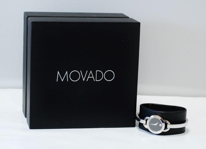 MOVADO WOMEN'S RONDIRO STAINLESS MINI WATCH 0606796