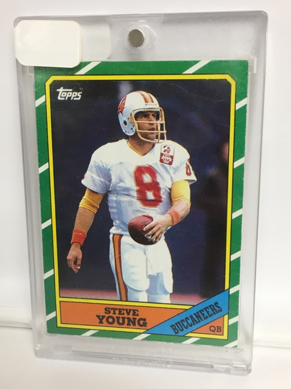 1986 TOPPS  STEVE YOUNG 374