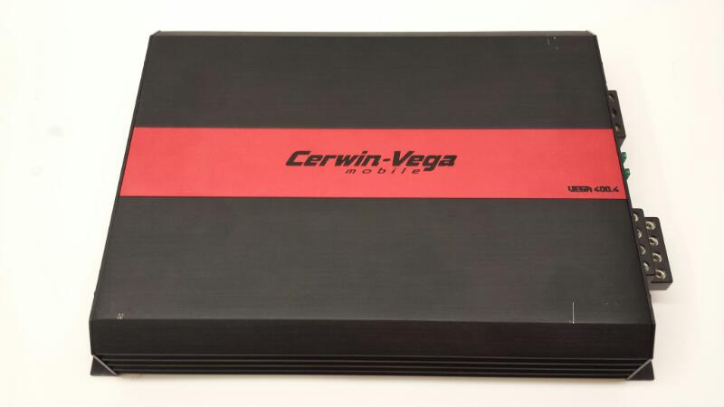 Cerwin-Vega Car Amplifier Moble 400.4