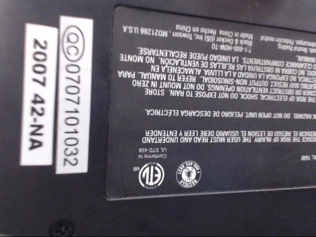 BLACK&DECKER Cell Phone Accessory CP120B