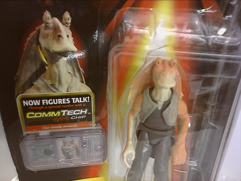 "STAR WARS Vintage/Antique Toys ""JAR JAR BINKS"""