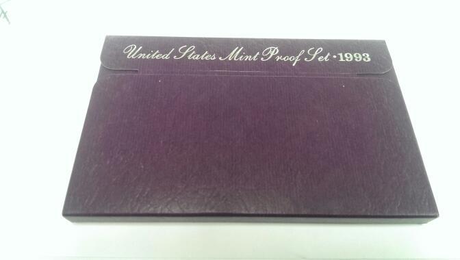 UNITED STATES 1993 MINT PROOF SET