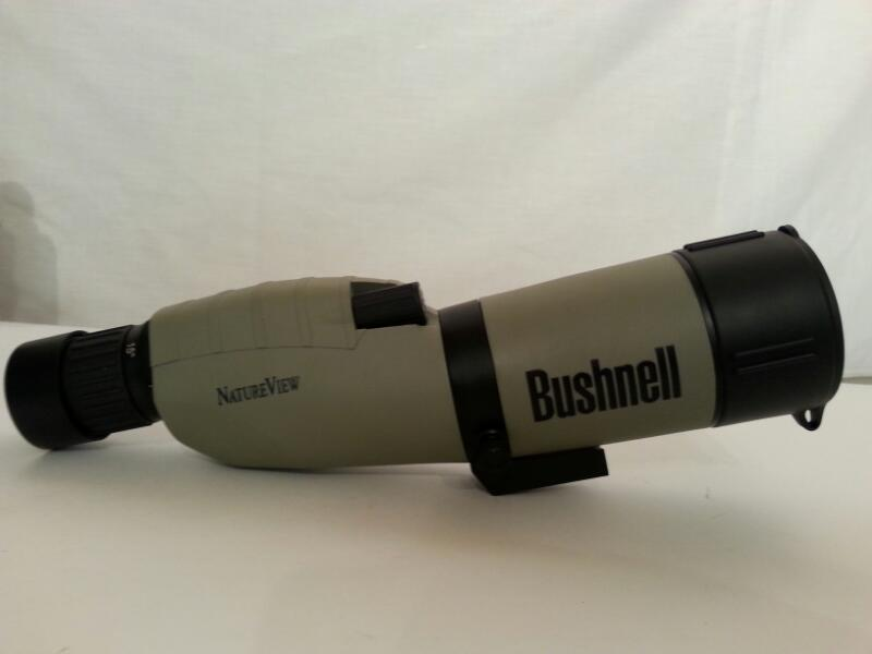WATERPROOF BUSHNELL NATURE VIEW SPOTTING SCOPE 15-45X-50MM WITH TRIPOD AND CASE]