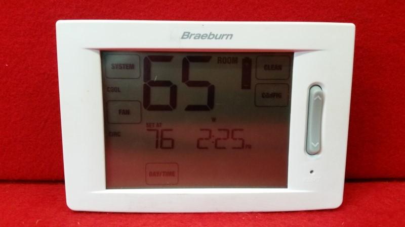 Braeburn Universal Touchscreen Model 6300 Thermostat
