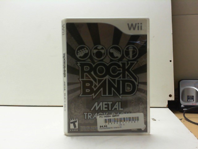 NINTENDO Nintendo Wii Game ROCK BAND METAL PACK