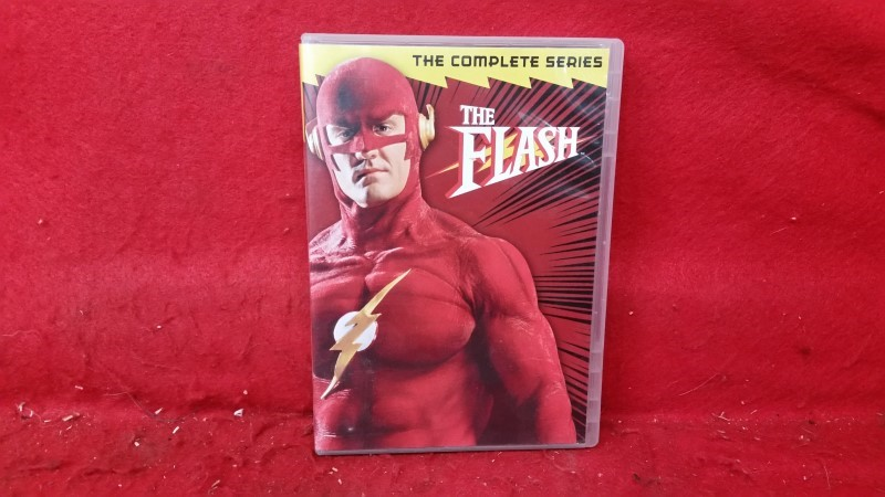 The Flash: The Complete Series (DVD, 2011, 6-Disc Set)