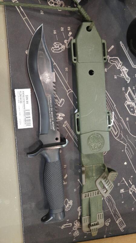CUCHILLO DE MONTE Combat Knife AITOR