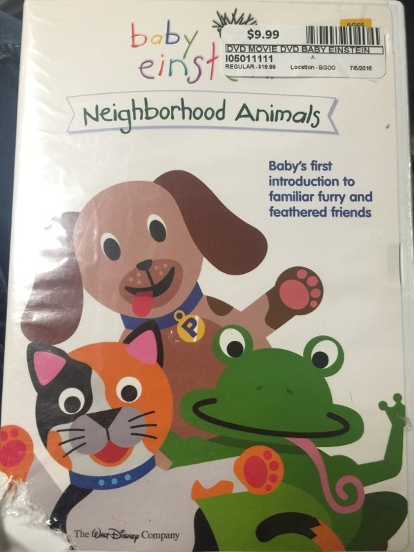 DVD BABY EINSTEIN NEIGHBORHOOD ANIMALS