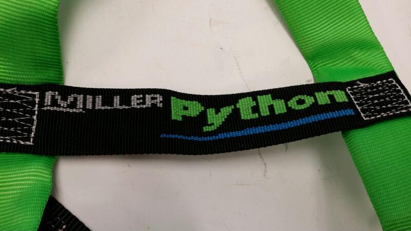 MILLER PYTHONE SAFETY HARNESS DFP 650K]