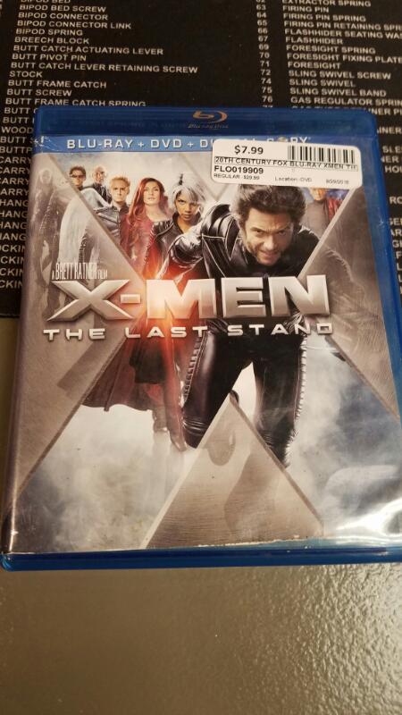 20TH CENTURY FOX Blu-Ray XMEN THE LAST STAND BLU-RAY