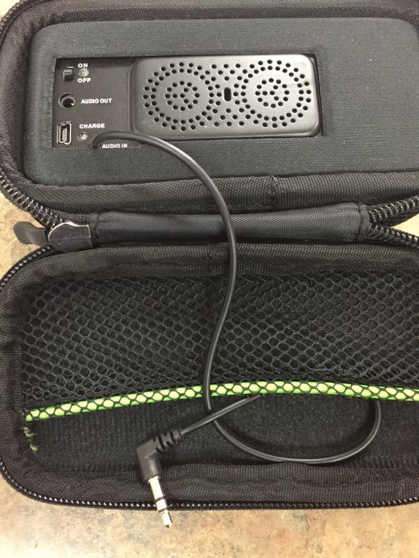 GOAL ZERO IPOD/MP3 Accessory PORTABLE SPEAKER