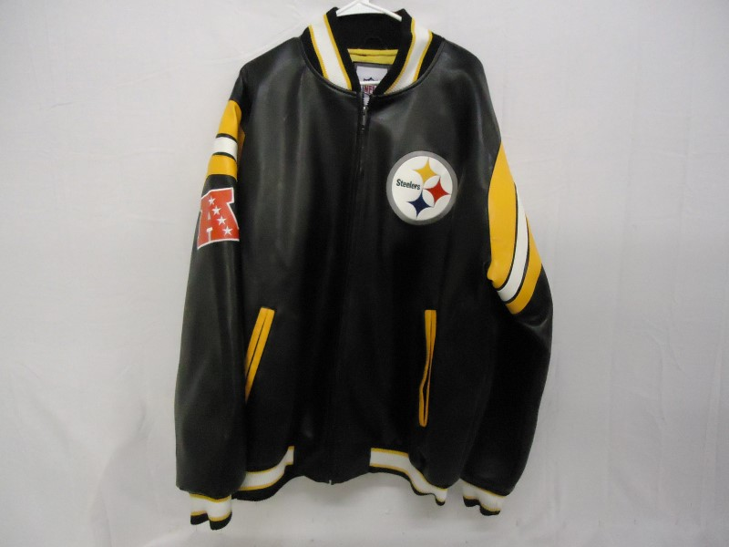 STARTER Clothing NFL LEATHER SPORTS JACKET