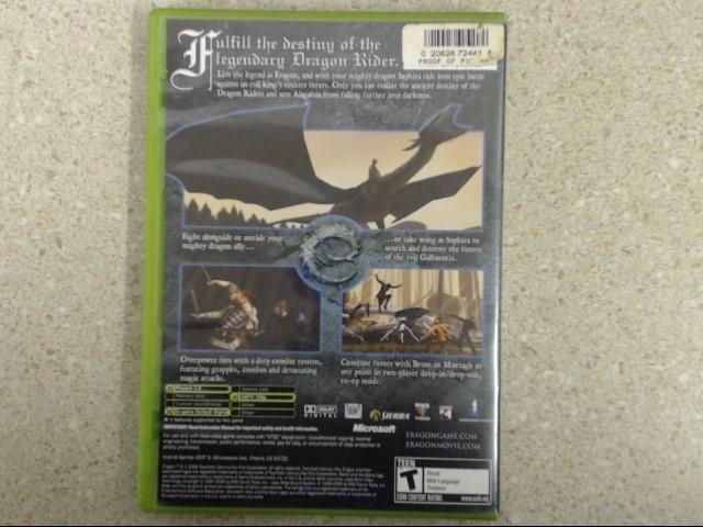 Eragon (Microsoft Xbox, 2006) Complete