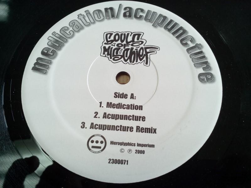 IMPERIUM RECORDS SOULS OF MISCHIEF MEDICATION/ACUPUNCTURE VINYL