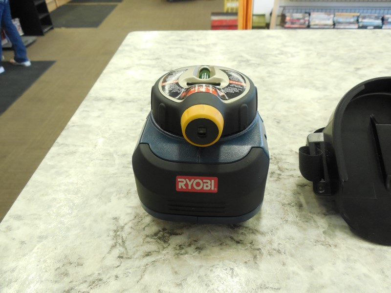 RYOBI LEVEL AIRGRIP LASER LEVEL