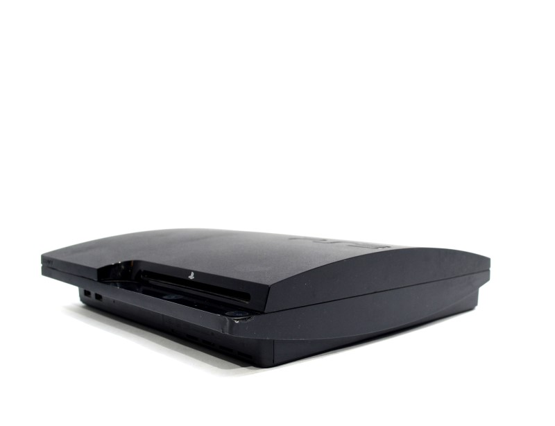 Sony Playstation 3 PS3 Slim Matte Black Console - 160GB CECH-3001A >