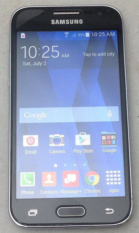 Samsung Galaxy Core Prime SM-G360V 8GB Charcoal Gray Verizon