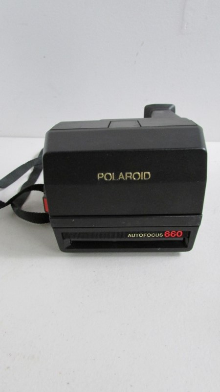 POLAROID Film Camera 660 UNTESTED