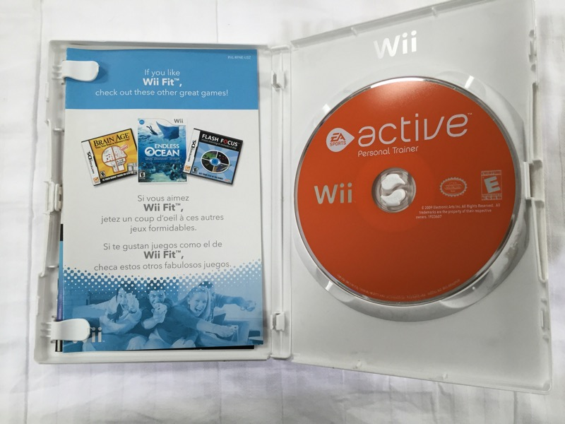 NINTENDO WII ACTIVE PERSONAL TRAINER (GAME ONLY)