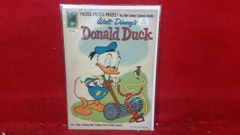 DELL Walt Disney's Donald Duck Comic Book #78 1961