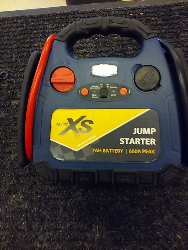 AUTO XS Battery/Charger BATTERY JUMPER