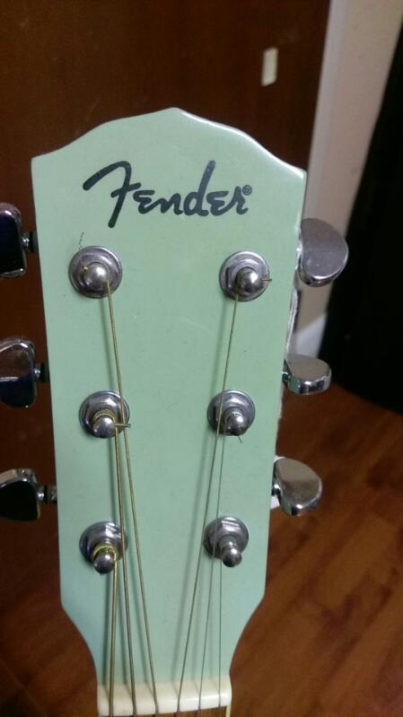 FENDER ACOUSTIC GUITAR MODEL DGA-1BLUE
