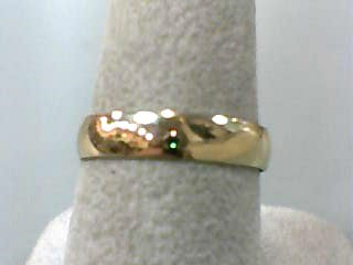 Lady's Gold Wedding Band 14K Yellow Gold 1.1dwt Size:7