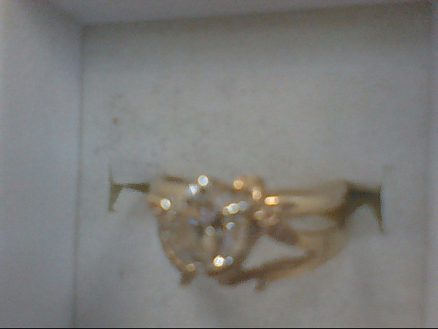 Lady's Diamond Solitaire Ring .50 CT. 10K Yellow Gold 2.5g