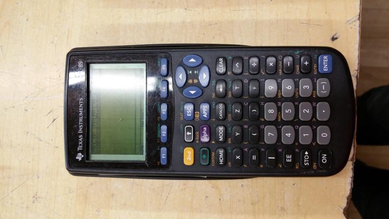 TEXAS INSTRUMENTS Calculator TI-89