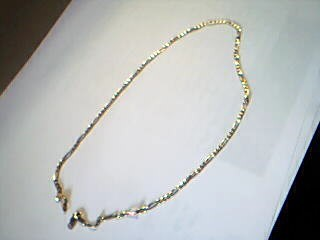 "18"" Gold Link Chain 14K Yellow Gold 4.3g"