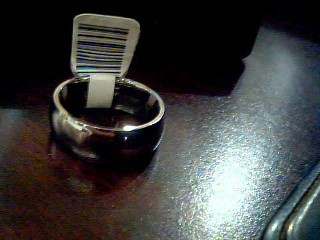 Gent's Ring Silver Titanium 4.3g