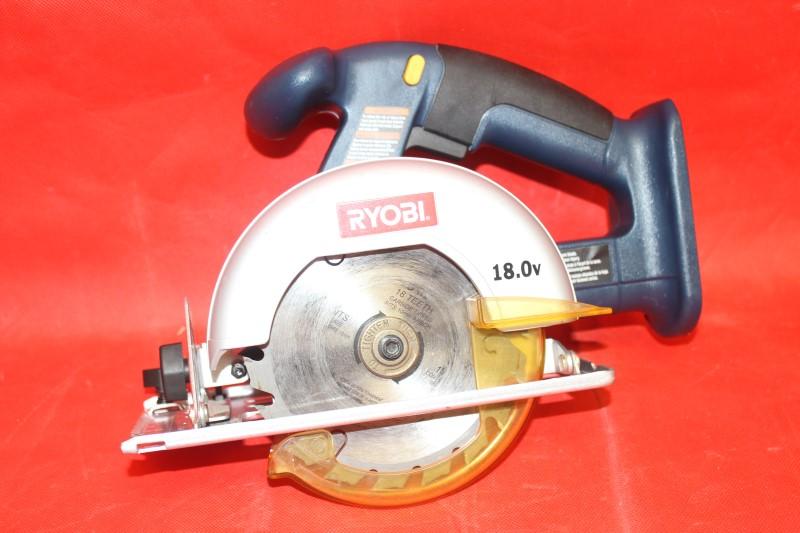 RYOBI - 18V CORDLESS CIRCULAR SAW - MODEL #P501