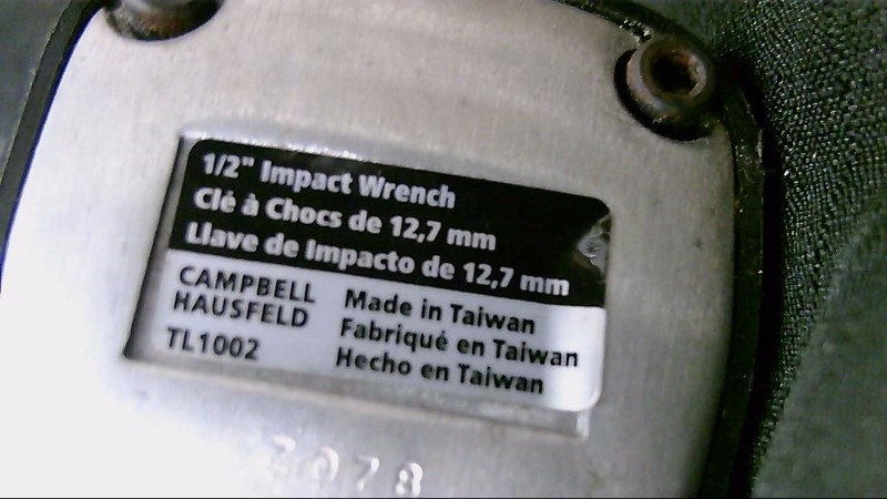 """Campbell Hausfeld TL1002 1/2"""" Impact Wrench"""