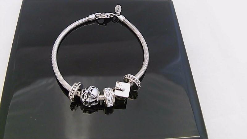 Silver Fashion Bracelet 925 Silver 19.8g
