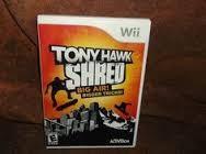 NINTENDO Nintendo Wii Game WII TONY HAWK SHRED