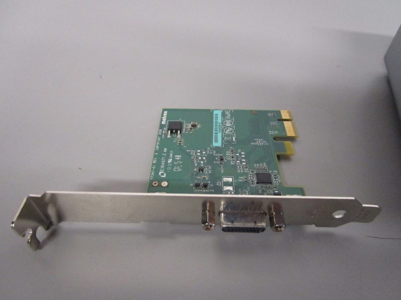 MATROX MXO2 MINI VIDEO CAPTURE DEVICE, WITH PCIE/ADP CARD