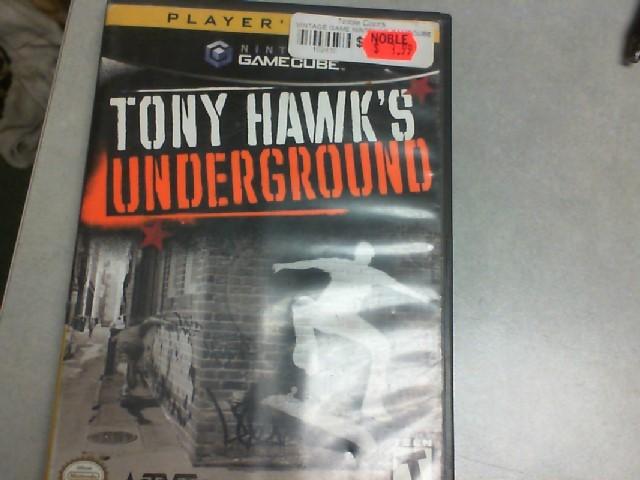 Gamecube Tony Hawk's Underground