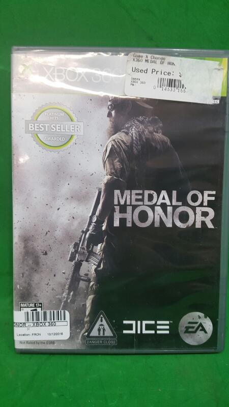 Medal of Honor (Microsoft Xbox 360, 2010)